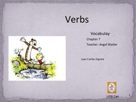 Vocabulary Verbs Chapter 7
