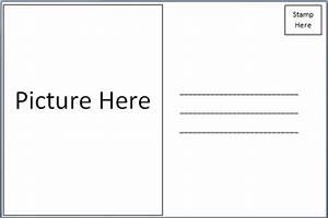 postcard template free tristarhomecareinc With free blank postcard template for word