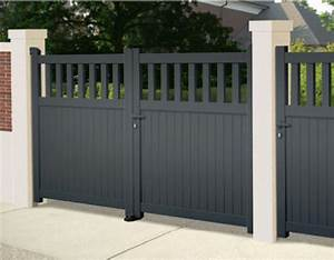 Portail En Aluminium : prix portail aluminium budget ~ Melissatoandfro.com Idées de Décoration