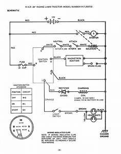Craftsman 917255732 User Manual 11 H P  38 Inch Riding