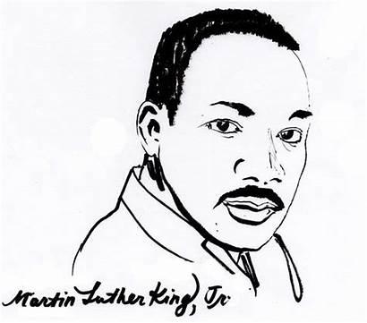 Luther Martin King Coloring Jr Dr Sheet