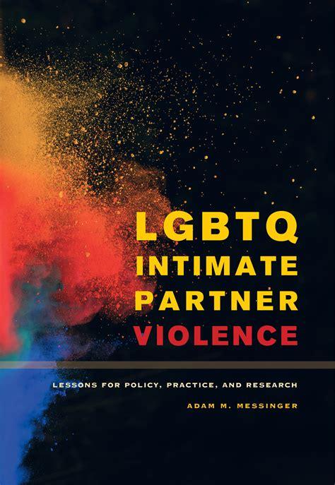 lgbtq intimate partner violence  adam  messinger