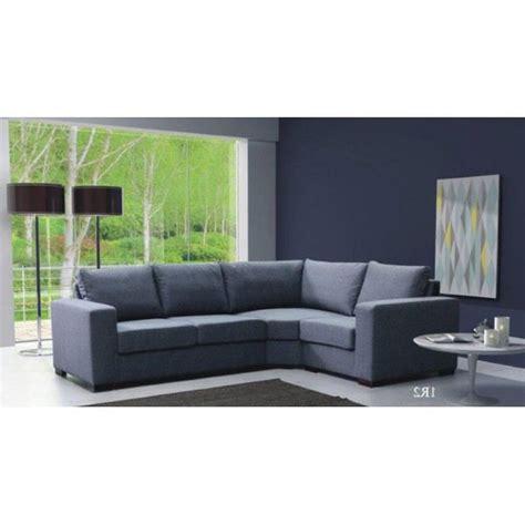 canapé droit 4 places canapé d 39 angle 4 places lili gris angle droit achat