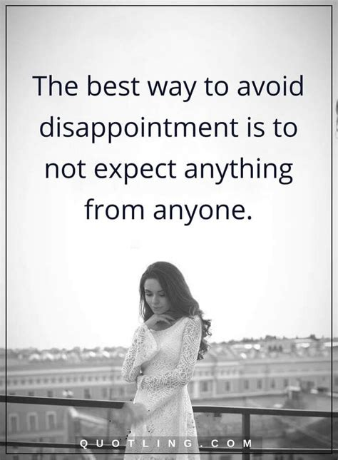 disappointment quotes     avoid disappointment