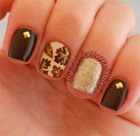 autumn nail designs 15 easy fall autumn nail designs ideas