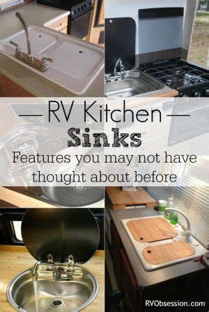 rv kitchen sinks rv obsession