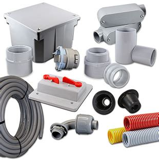Products  Pvc Connectors, Fittings, Electrical Boxes And