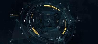 Hud Sci Fi Futuristic Scifi Computer Strip