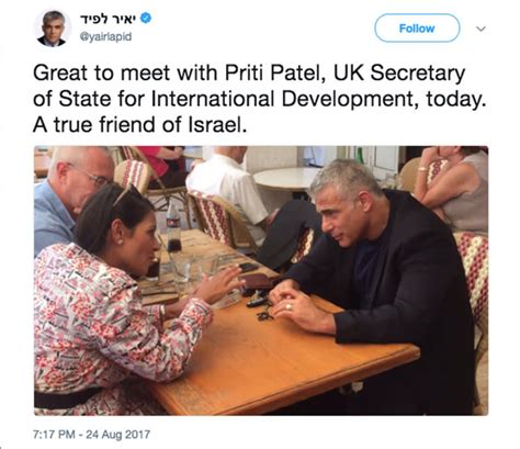 How the scandal of Priti Patel's undisclosed meetings in ...