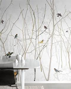 best 25 wallpaper murals ideas on pinterest wall murals With best brand of paint for kitchen cabinets with animal en papier