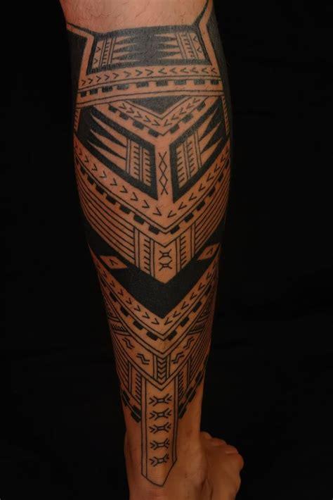 geometric tattoo leg tattoos design ideas  men