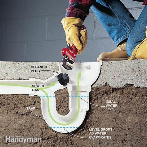 eliminate basement odor  sewer smells family handyman  family handyman