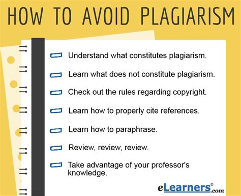 how to avoid plagiarism in academic writing