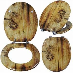 Wc Sitz Holz Absenkautomatik : wc sitz toilettendeckel mdf holz klodeckel wc deckel toilettensitz brille 186 ebay ~ A.2002-acura-tl-radio.info Haus und Dekorationen
