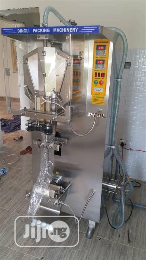 automatic machine  pure water  sachet water  amuwo odofin manufacturing equipment