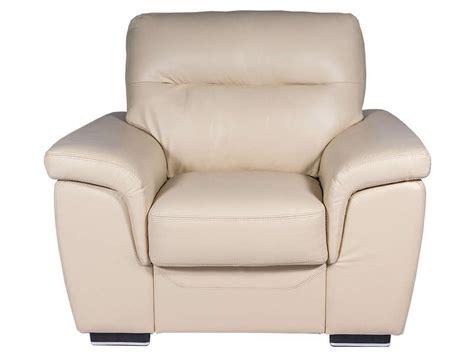 fauteuil en cuir coloris beige vente de tous les fauteuils conforama