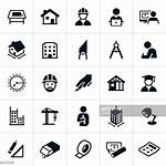 Architecture Icons Vector Illustration Icon Clipart Drawing