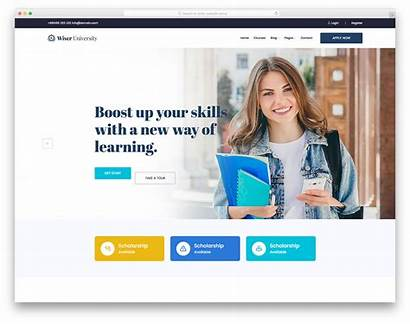 Template Wiser Website Education Templates Colorlib College