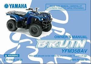 2005 Yamaha Bruin 250 Service Manual