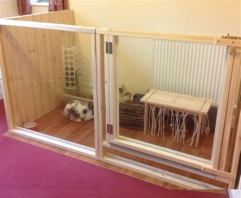 How To Make Your Own Rabbit Hutch by Build Your Own Enclosure Rabbit Hutch World