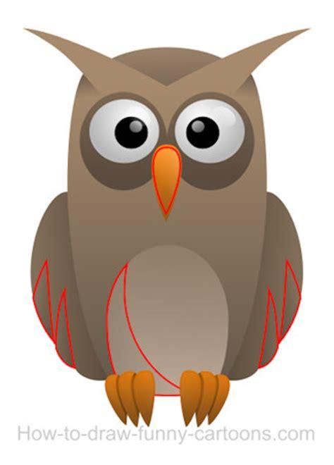 drawing  owl cartoon