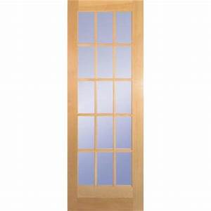 builder39s choice 30 in x 80 in 30 in clear pine wood 15 With home depot interior french door
