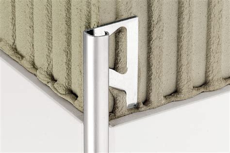schluter rondec corners schluter 174 rondec edging outside wall corners for walls profiles schluter com