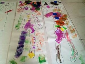 decorate your own body kids craft easy fun cheap - Bright