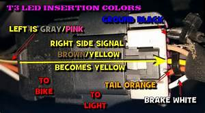 F3 Brake  Turn Signal Lights Wiring Code