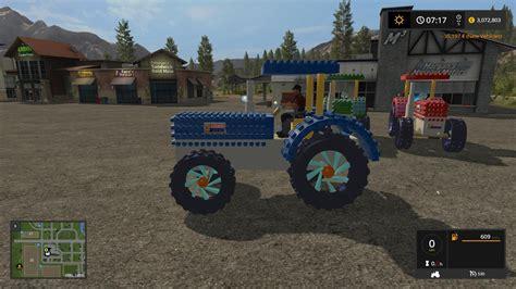crazy lego tractor  mod farming simulator   mod