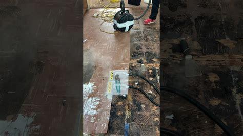 asbestos floor tile removal easy youtube