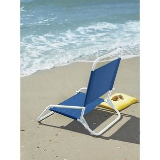 Low Chairs Kmart by Essential Garden Low Back Chair Blue Outdoor