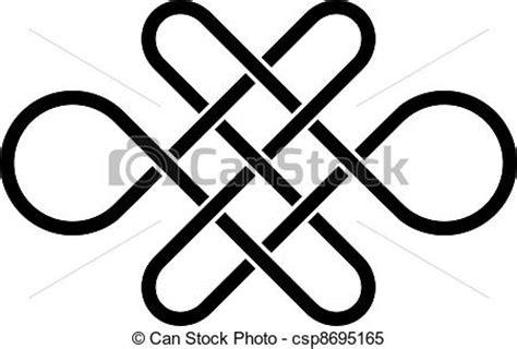 Cornici Celtiche Clipart Vettoriali Di Celtico Vettore Nodo Infinito
