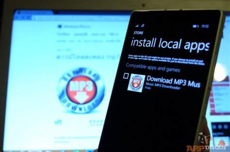 การต ดต งแอพโดยการโหลดไฟล ต ดต งมาไว บนเคร องผ านคอมพ วเตอร บน windows phone 8 1