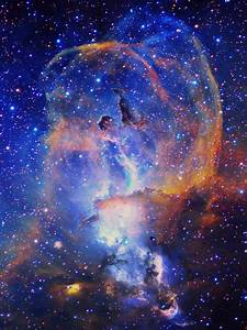Nebula That Lloks Like Jessus - Pics about space