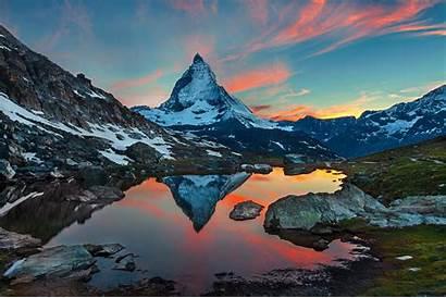 Zermatt Switzerland Mountains Mountain Desktop Snow Landscape