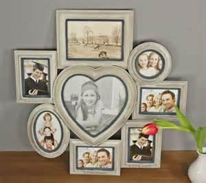 badezimmer antik bilderrahmen braun collage herz