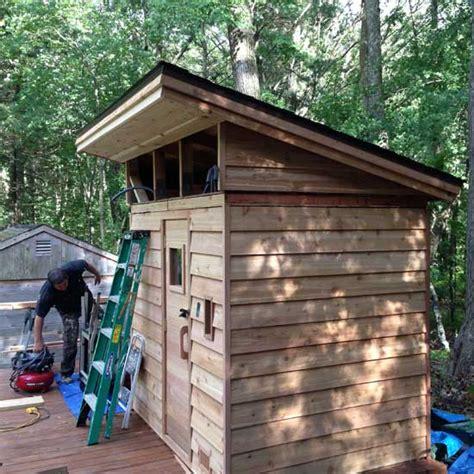 outdoor sauna kit heater accessories post beam porch