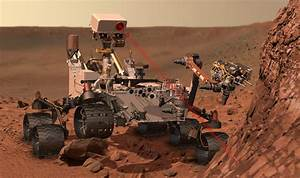 Space Images | Curiosity at Work on Mars (Artist's Concept)