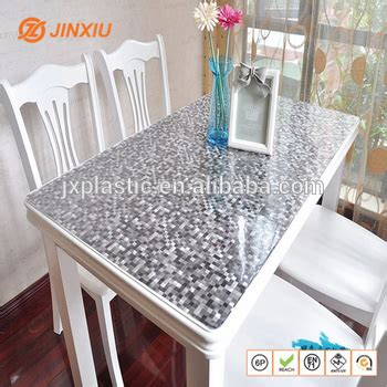 Glass Cover For Dining Table by Mosaic Design Dining Table Cloth Soft Glass Table Cover