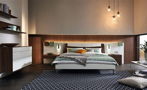 cozy contemporary bedrooms  matching wardrobes  decor