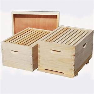 China Eco-friendly Durable Bee Hive Langstroth Beehive Standard Beehives Wooden Beehive
