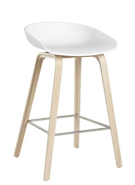 tabouret cuisine bois tabouret de bar about a stool aas 32 h 65 cm plastique