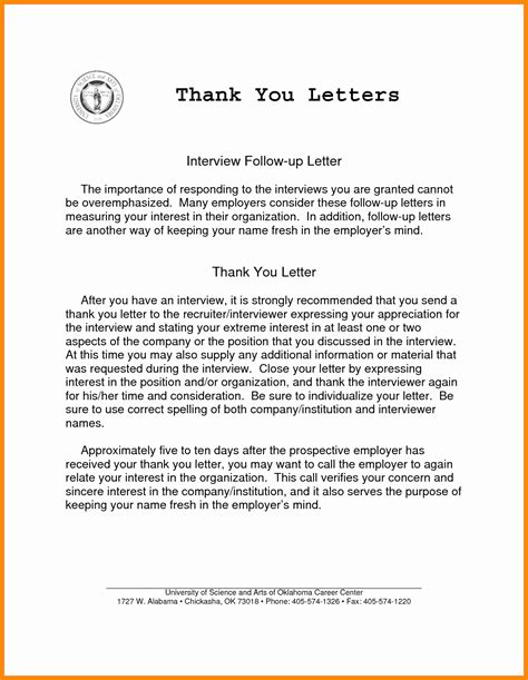 Follow Up Email After Phone by 9 10 Followup Thank You Letter Loginnelkriver