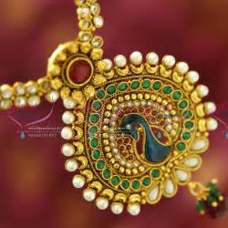jhumka earrings with chain nl1921 gold plated peacock design artificial traditional