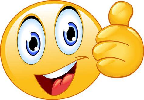 daumen hoch smiley gesicht emoji kostenlose vektorgrafik