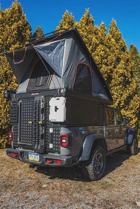 alu cab canopy camper   jeep gladiator   jeep gladiator gladiator jeep