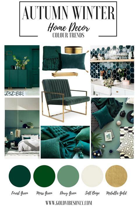 autumn winter interior home decor colour color trends