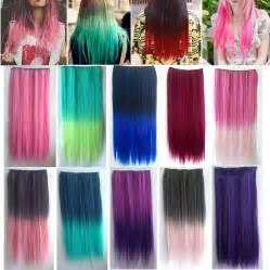 clip hair extensions moda y estilo extensiones de colores