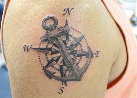 anker kompass kompass tattoos ideen und bedeutungen